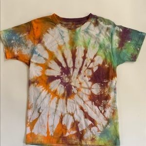 100% cotton one of a kind hand made tie dye